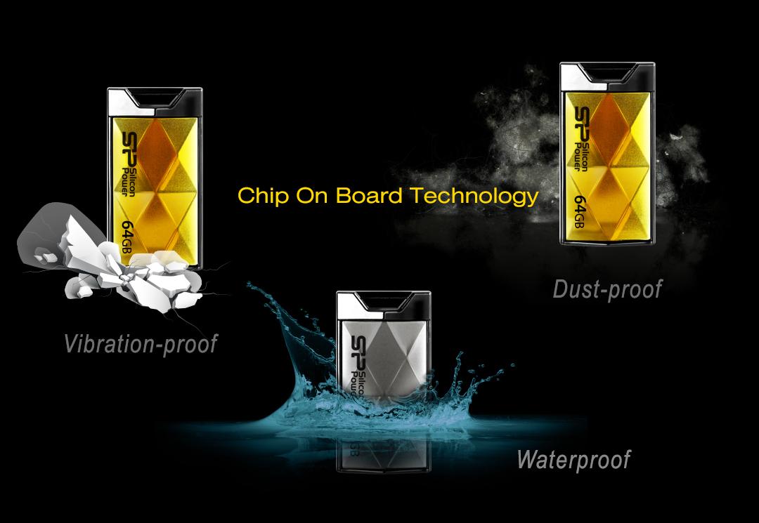 Touch 850 防水、防震及防塵的全方位資料防護