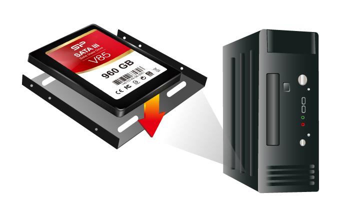 """Velox V85 3.5""""支架 更多元的升級運用"""