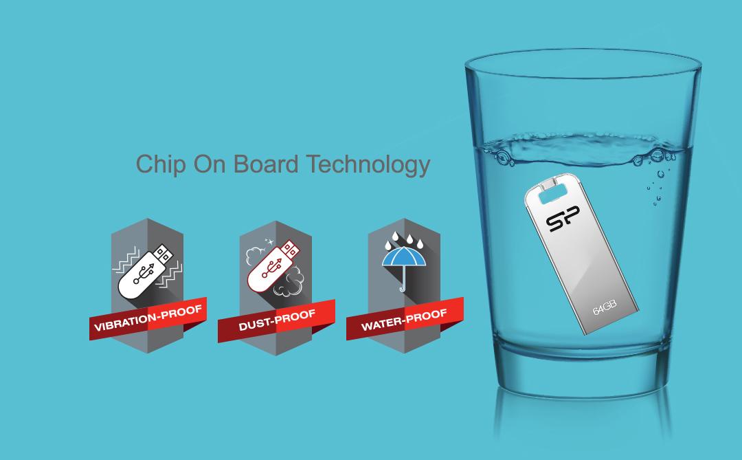 Touch T03 防水、防震及防塵的全方位資料防護