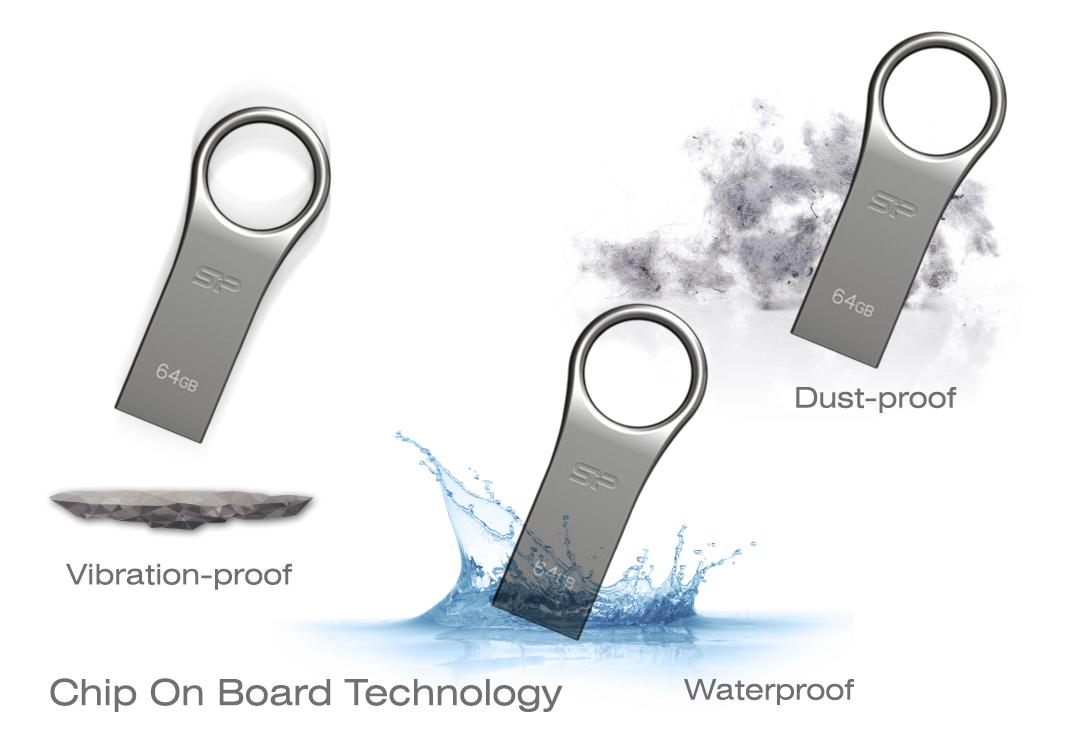 Firma F80 防水、防震及防塵的全方位資料防護