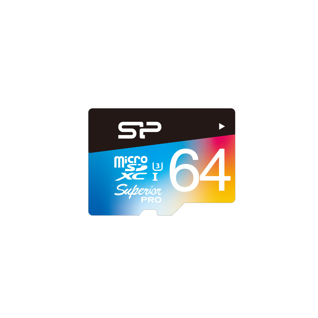 Cartes mémoires Superior Pro microSDHC/microSDXC UHS-1(U3)_Colorful