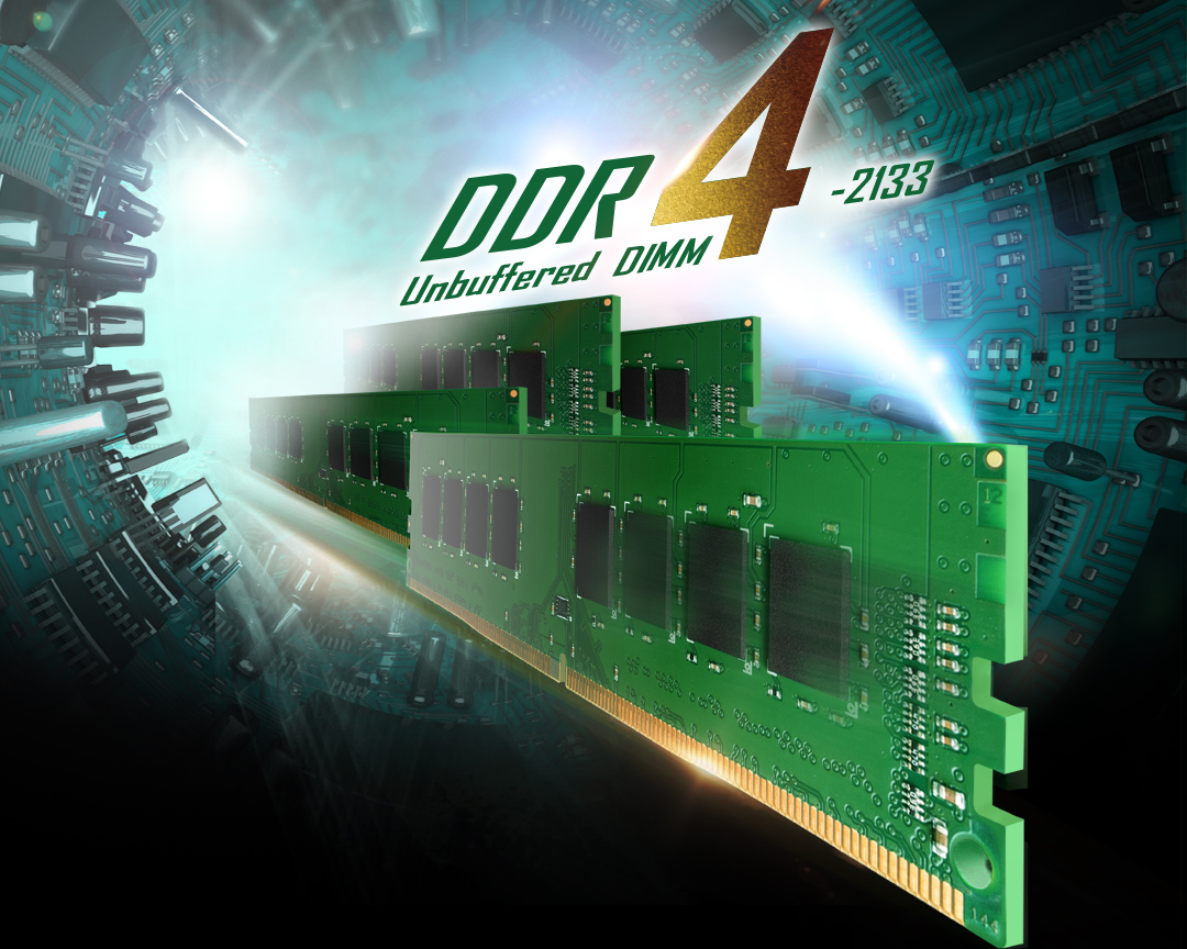 DDR4 288-PIN Unbuffered DIMM Performance Upgrade to a Whole New Level
