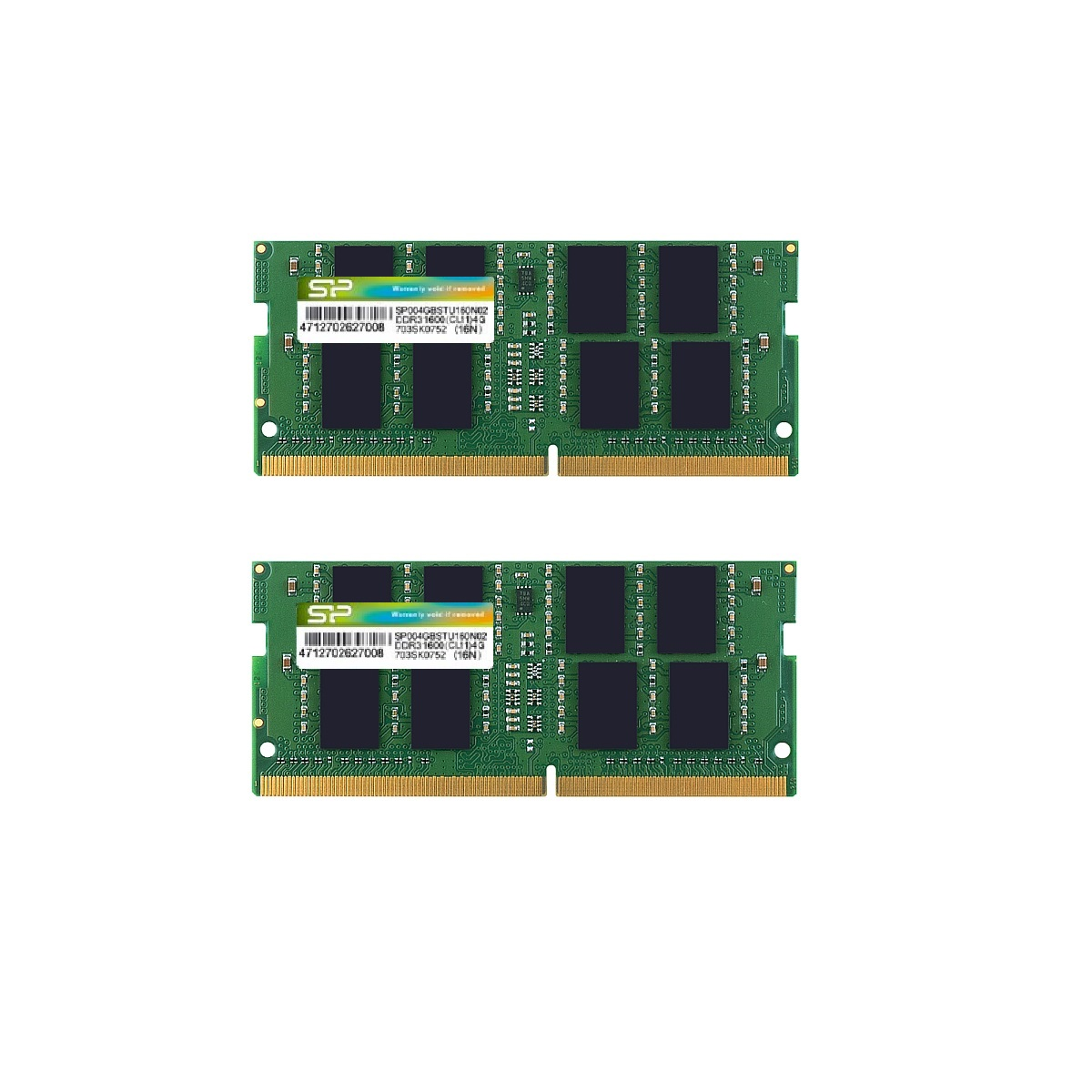 Modules mémoires DDR4 260-PIN SO-DIMM_Dual Channel Kit