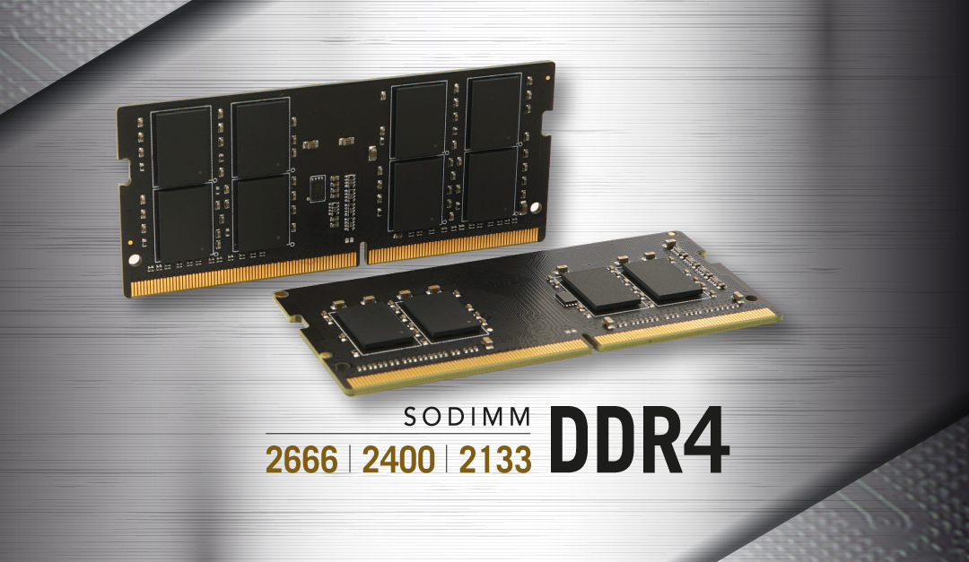 DDR4 260-PIN SO-DIMM Upgrade to New Levels
