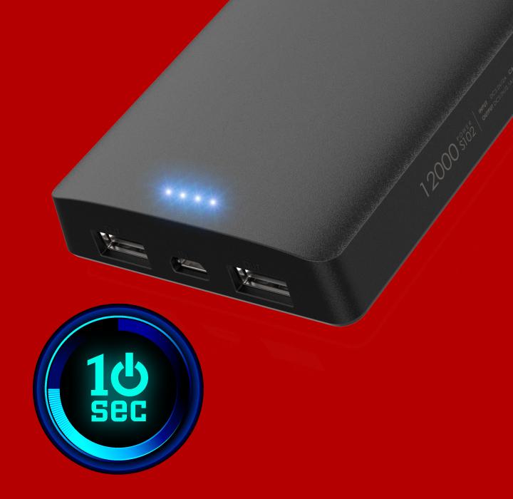 Power S102 10秒省電模式 X 四段LED指示燈
