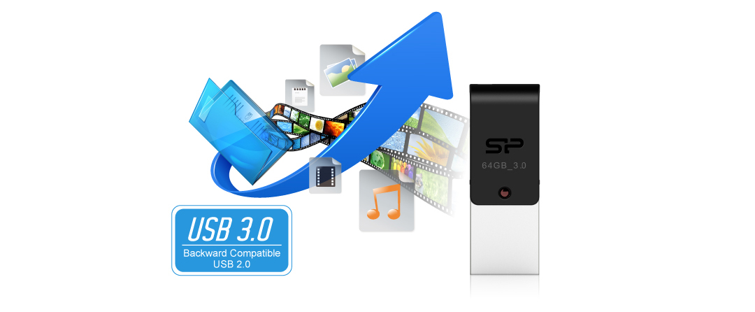 Mobile X31 SuperSpeed USB 3.0 interface