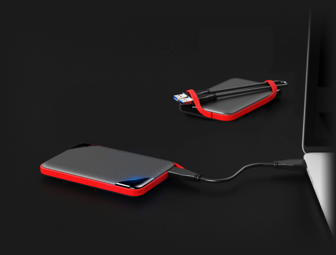 Armor A62 Innovative Cable-Carry Design