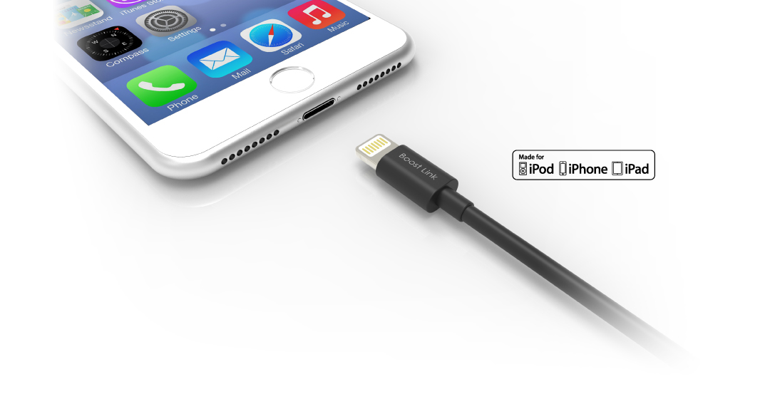 Boost Link PVC LK10AL Apple原廠MFi認證 相容各式Apple裝置