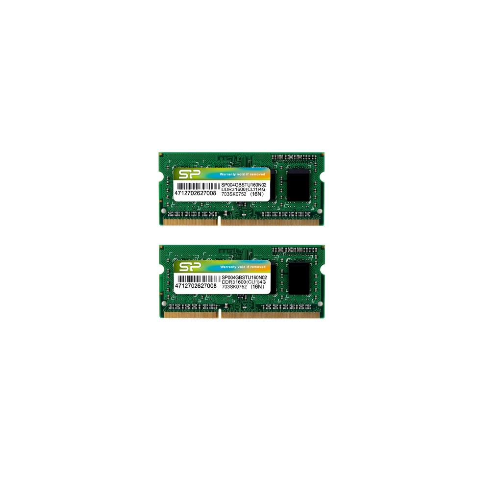 記憶體模組 DDR3 204-PIN SO-DIMM_Dual Channel Kit