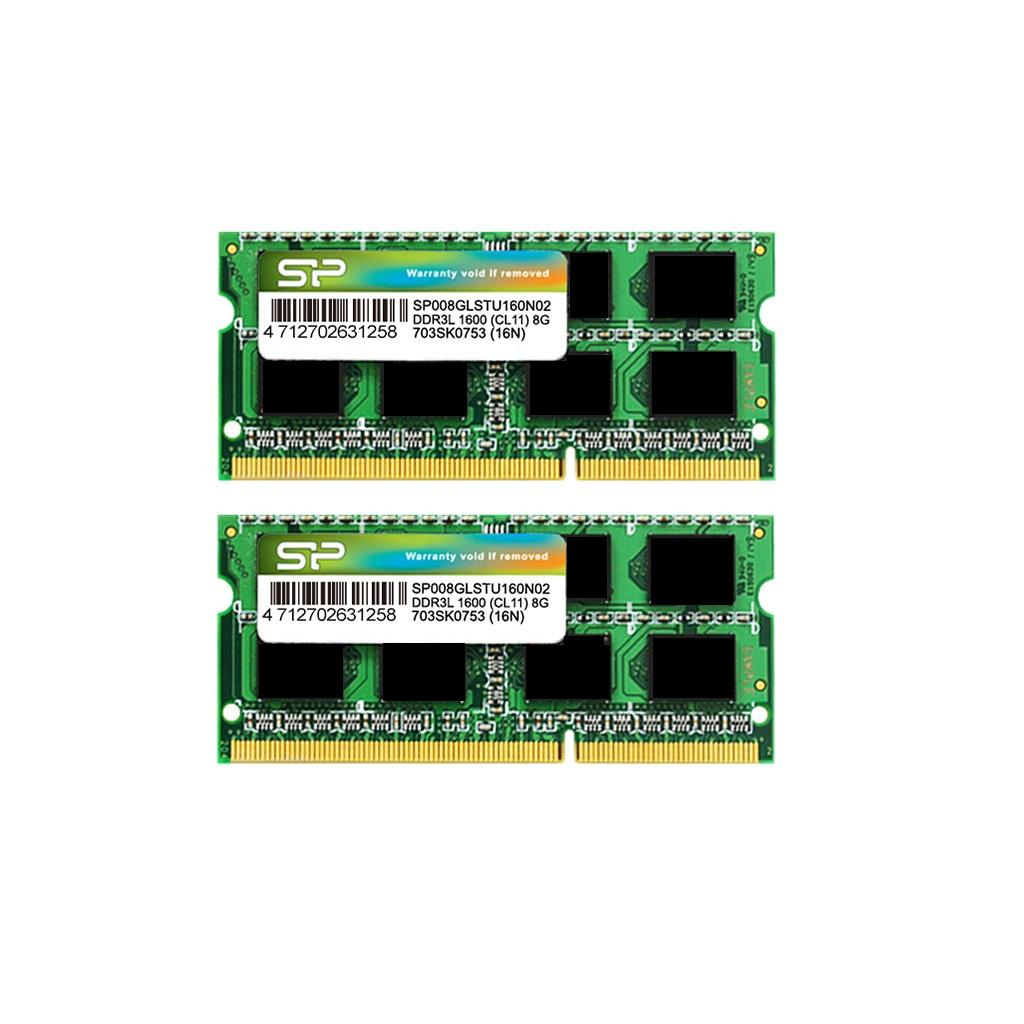 Modules mémoires DDR3L 204-PIN Low Voltage SO-DIMM_Dual Channel Kit