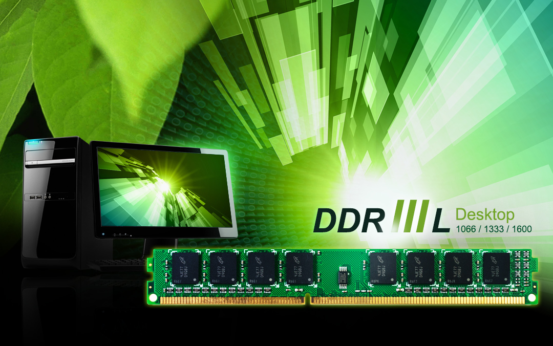 DDR3L 240-PIN Low Voltage Unbuffered DIMM_Dual Channel Kit