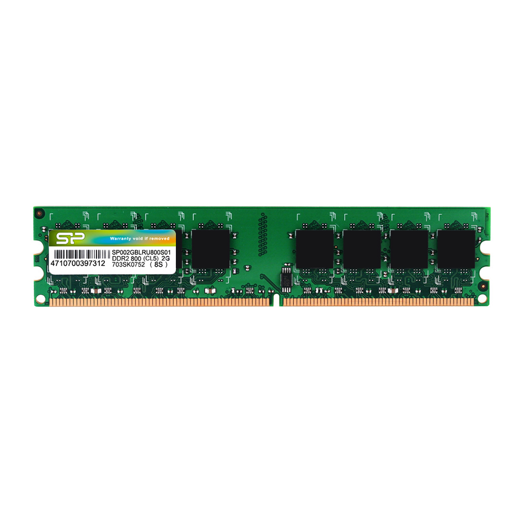 記憶體模組 DDR2 240-PIN Unbuffered DIMM
