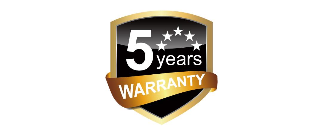 Slim S85 5-year Warranty