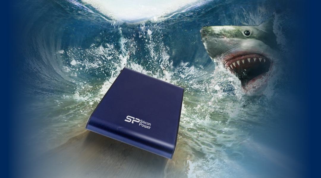 Armor A80 Waterproof and Military- grade Shockproof Portable Hard Drive