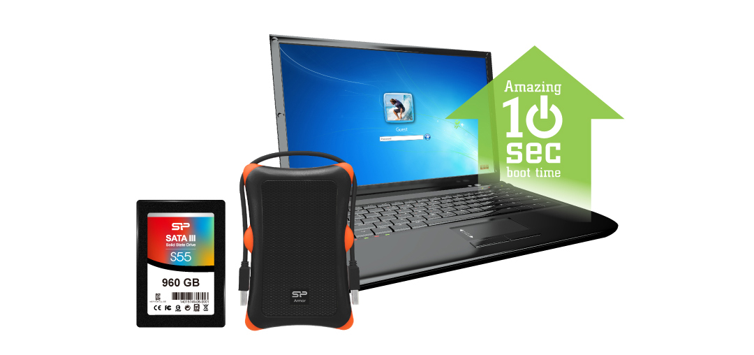 Slim S55 Upgrade Kit 電腦效能躍進的聰明選擇