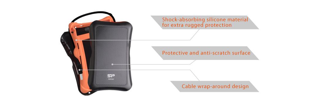 Slim S55 Upgrade Kit 抗震外接盒 給硬碟完整防護
