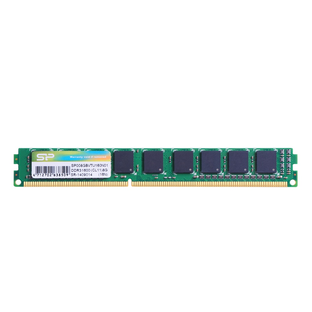 記憶體模組 DDR3L 240-PIN Low Voltage & Very Low Profile ECC DIMM