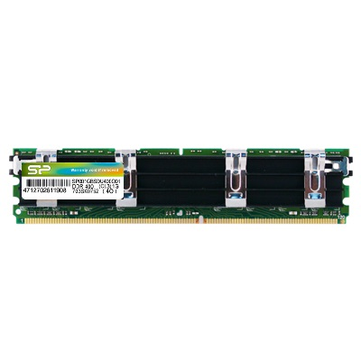 記憶體模組 DDR2 240-PIN ECC Fully Buffer DIMM (Apple Heatsink)