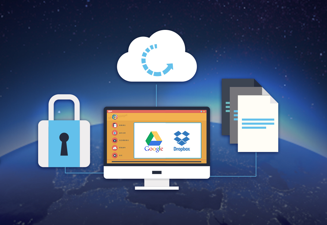 Secure G50 Software Encryption and Cloud Storage for