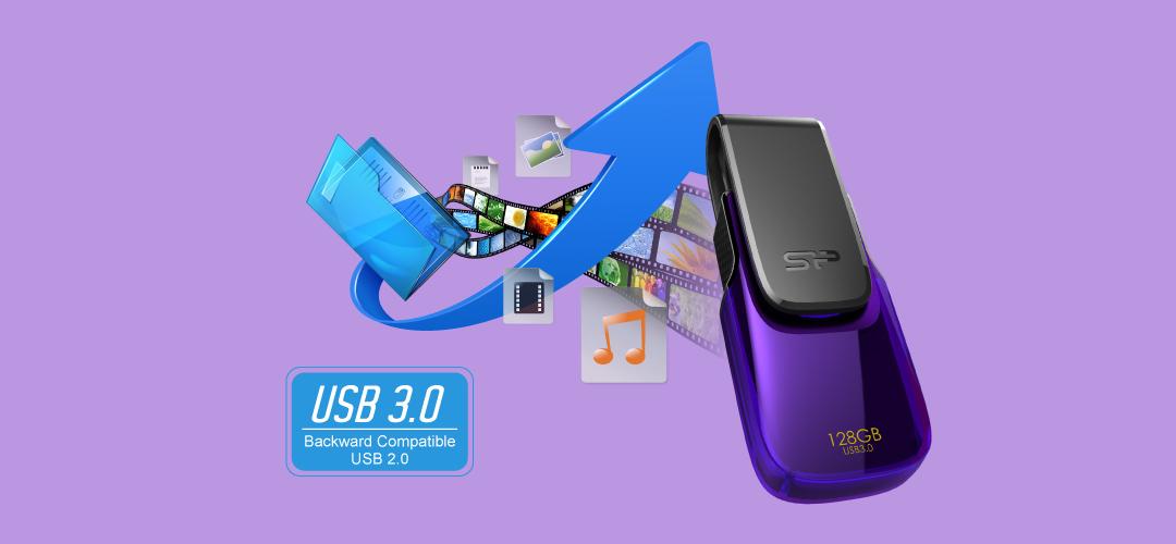 Blaze B31 SuperSpeed USB 3.1 Gen1 interface