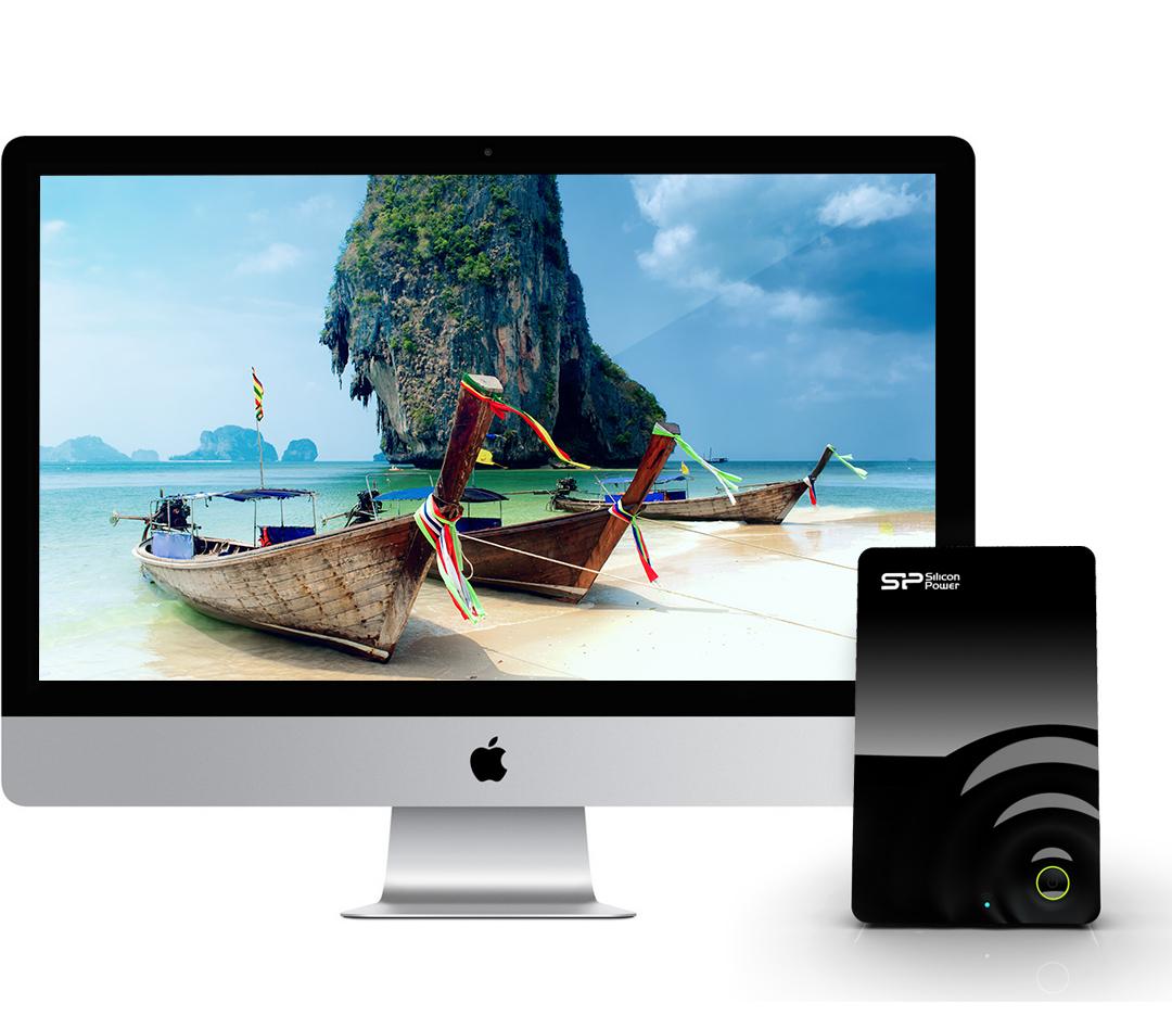 Wi-Fi H10 支援蘋果Apple TV/Airplay功能, TV大螢幕無線影像呈現
