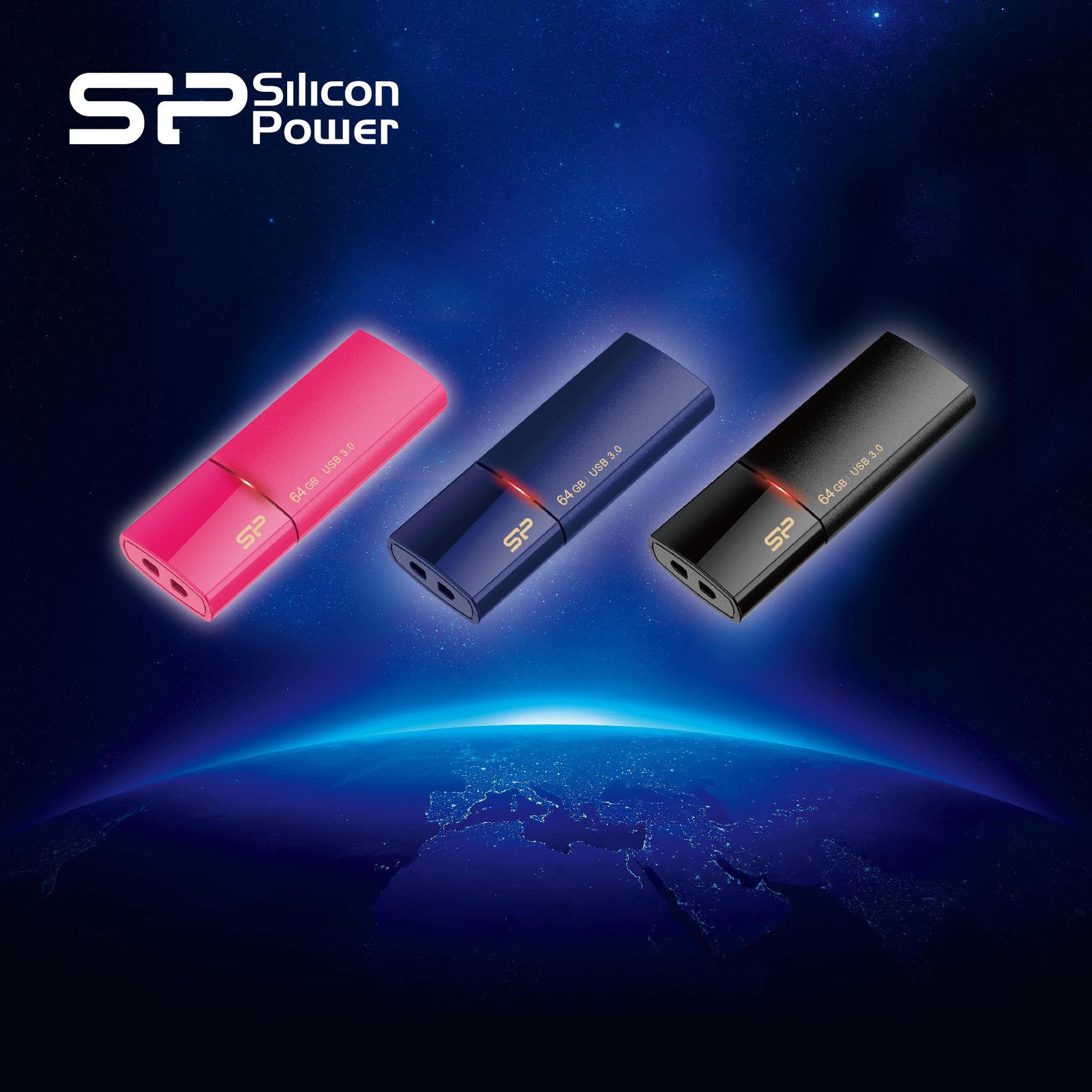 "SP廣穎電通 USB 2.0 Ultima U05 & USB 3.0 Blaze B05隨身碟 -指尖輕科技 繽紛靚時尚"" style="