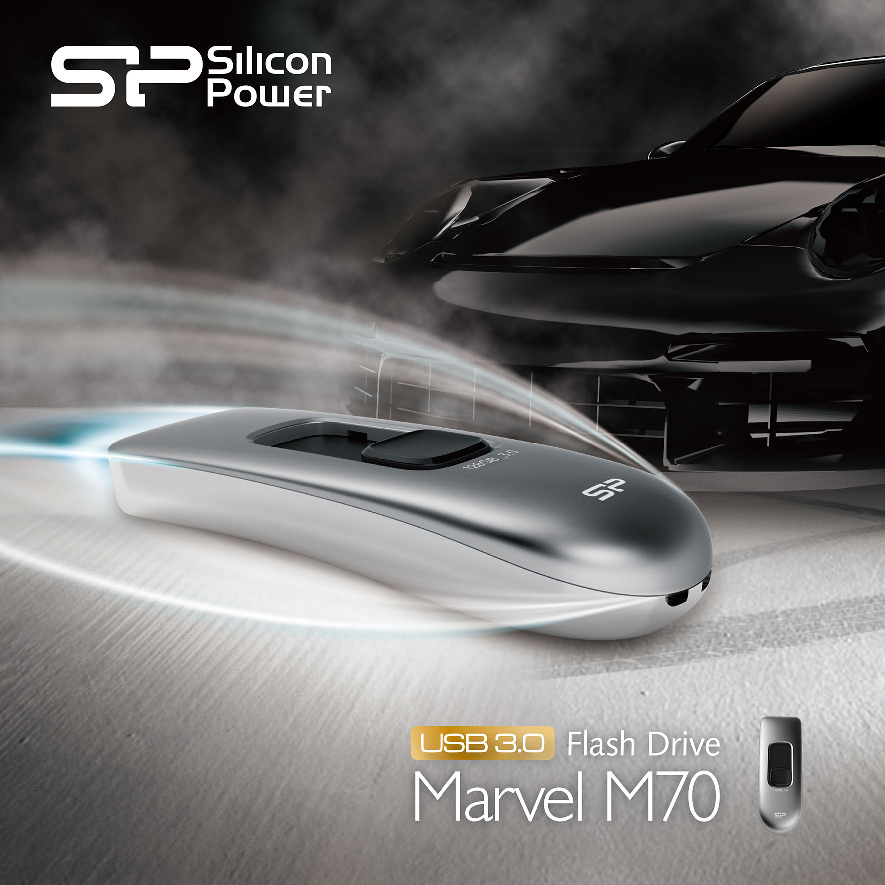 SP/ Silicon Power Releases the Ultra-fast USB 3.0 USB Flash Drive—Marvel M70