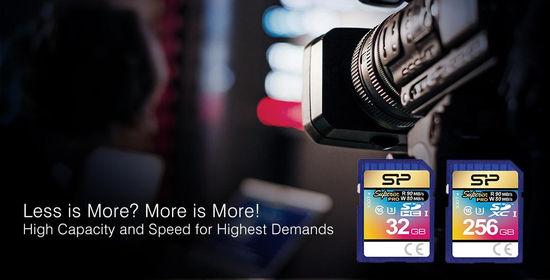 Superior Pro SDHC/SDXC UHS-1 (U3)