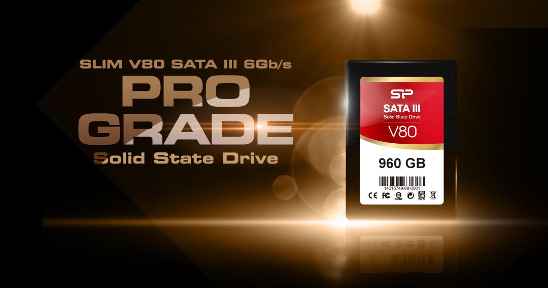 Velox V80<br><font color='#888888' size='2%'> R/W:550/500/s </font> Super-high performance for media multitaskers
