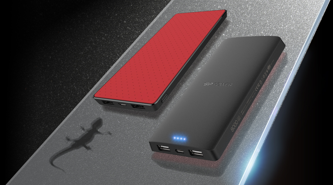 Power S82 High Capacity Power Banks with Anti-Slip Rubber Design