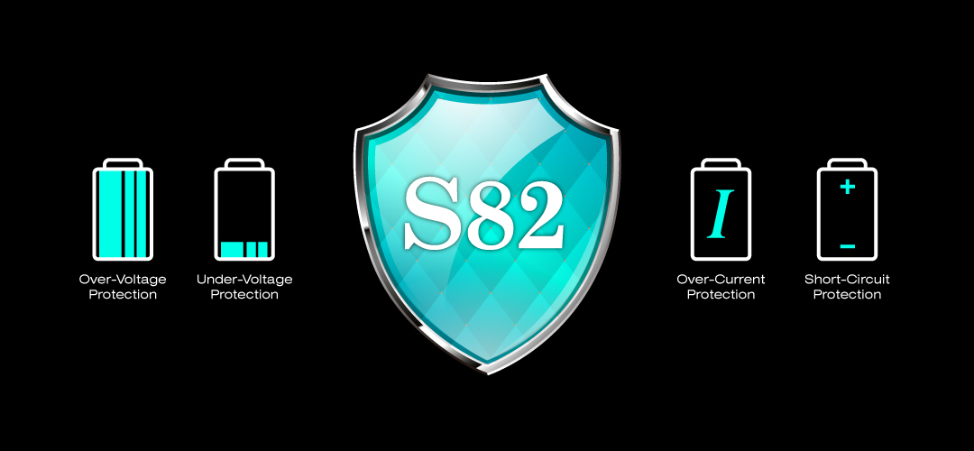 Power S82 Multiple Safety Protections