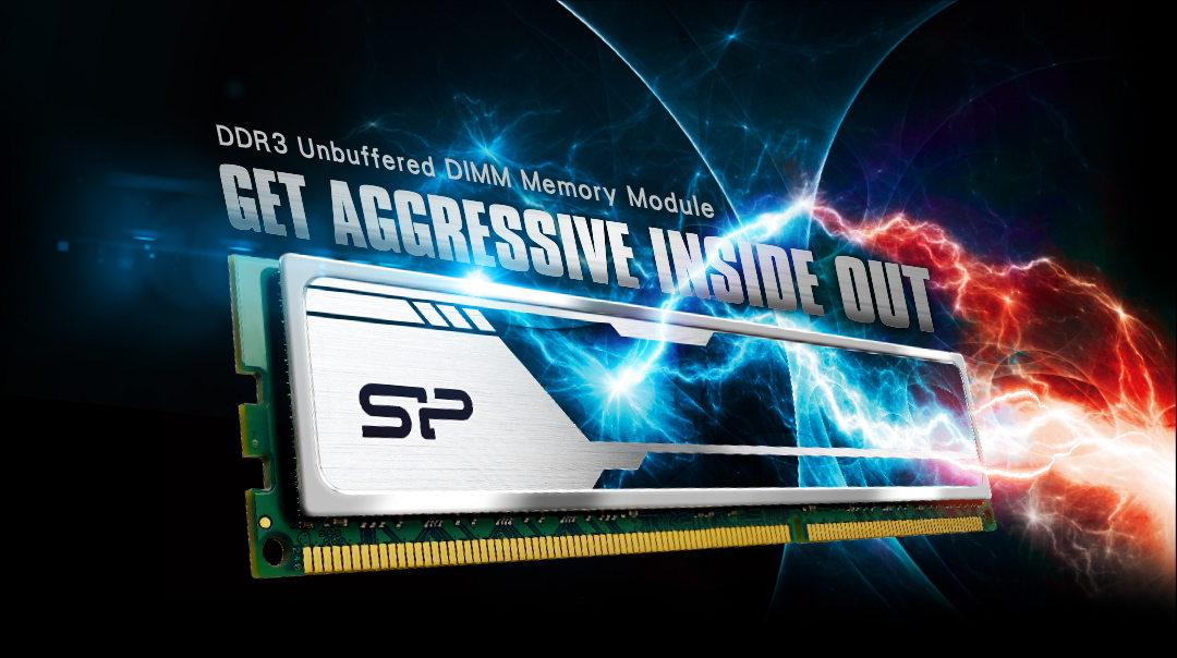 DDR3 Unbuffered DIMM (Heatsink) DDR3 Unbuffered DIMM Memory Module -Get aggressive inside out