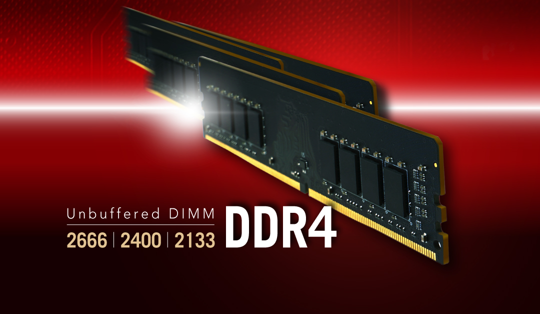 DDR4 UDIMM<br><font color='#888888' size='2%'>3200/2666/2400/2133</font> Upgrade to New Levels