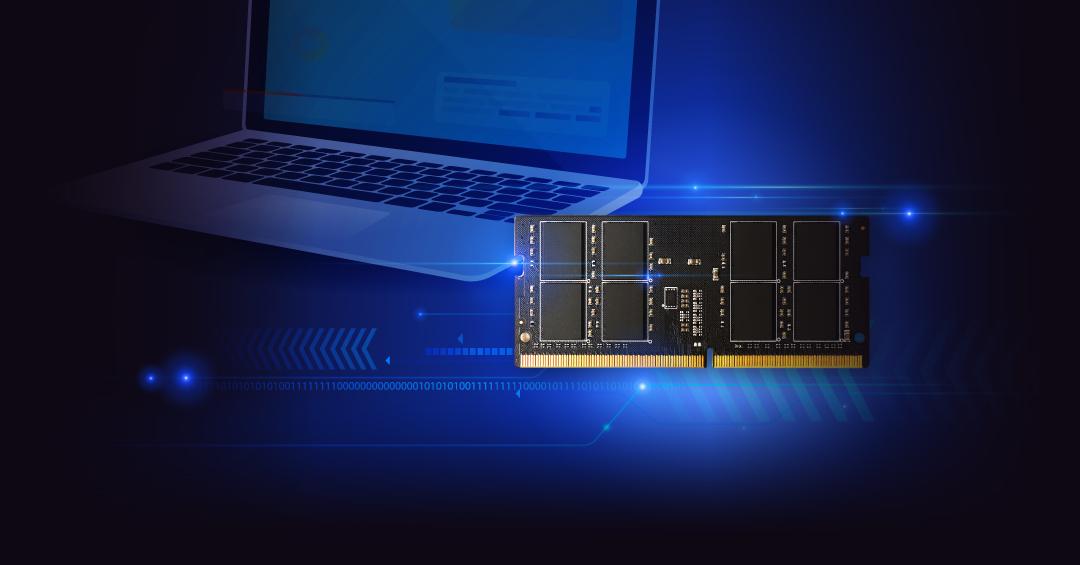 DDR4 SODIMM<br><font color='#888888' size='2%'>3200/2666/2400/2133 </font> Compatible for Your Convenience