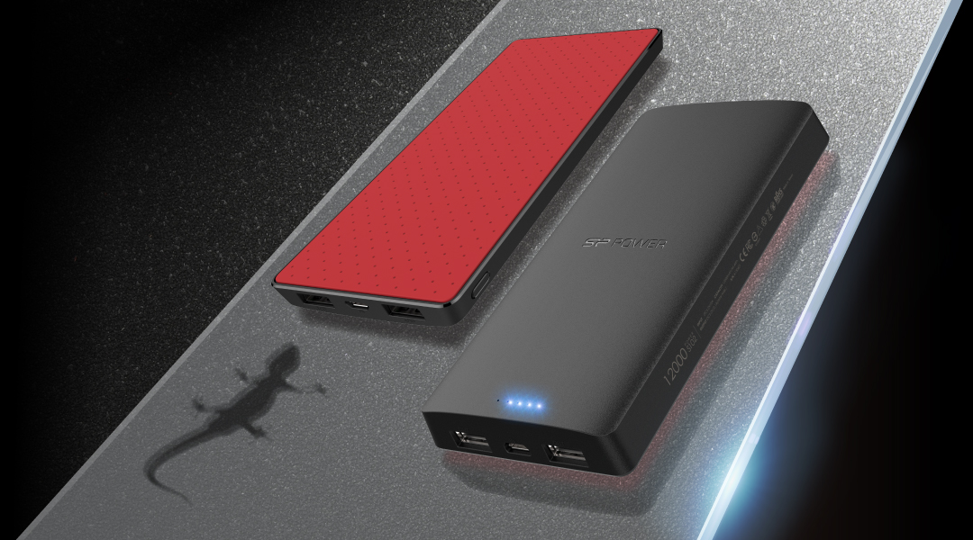 Power S102 High Capacity Power Banks with Anti-Slip Rubber Design