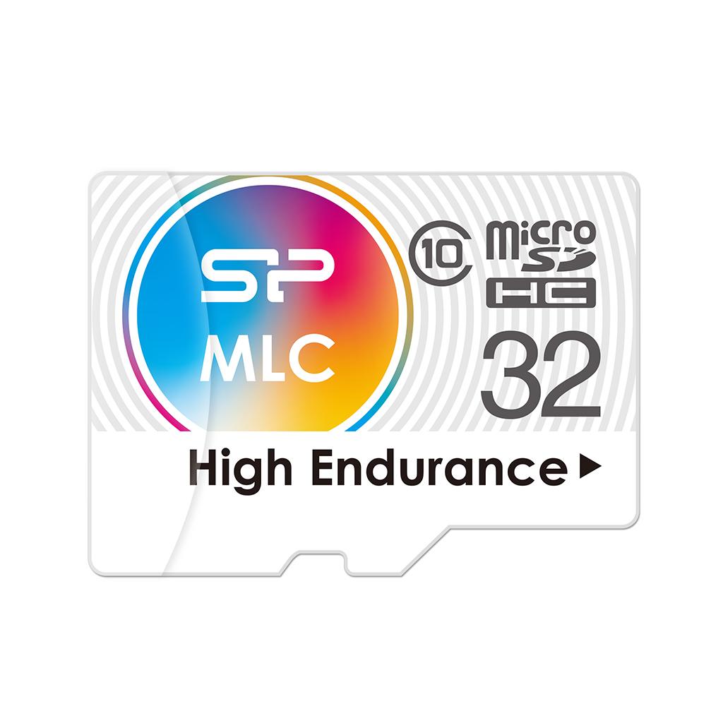 High Endurance microSDHC/SDXC<br><font color='#888888' size='2%'>(MLC. Class 10. UHS-I U3. 4K UHD)</font>