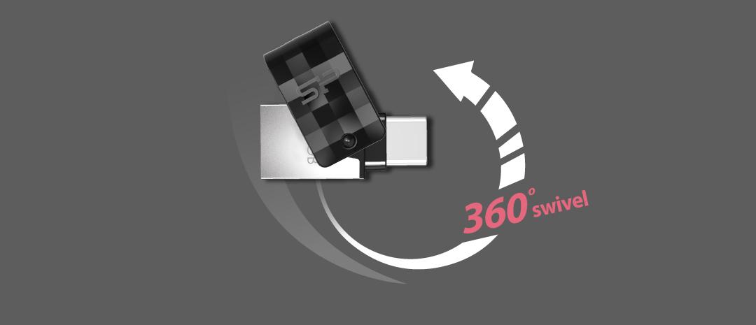 Mobile C31<br><font color='#888888' size='2%'>Type-C, Type-A</font> Swivel It, Just a Little Bit