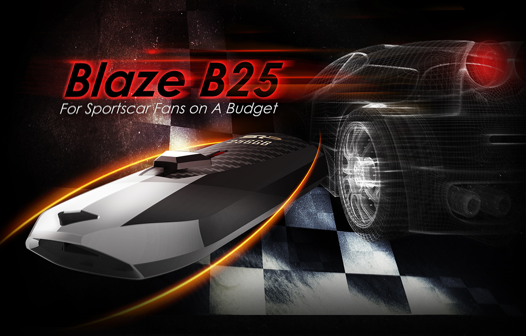 Blaze B25 A Sports Car for Your Pocket - Can You Hear the Engine Roar?