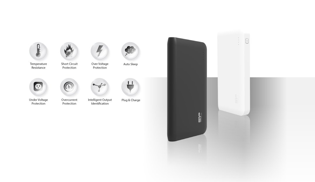 Power S50 Multiple Protection System for Safe Charging