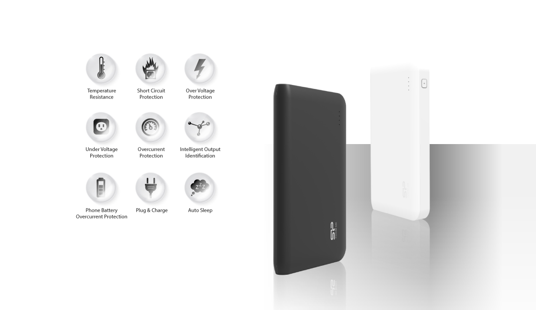 Power S200 Multiple Protection System for Safe Charging