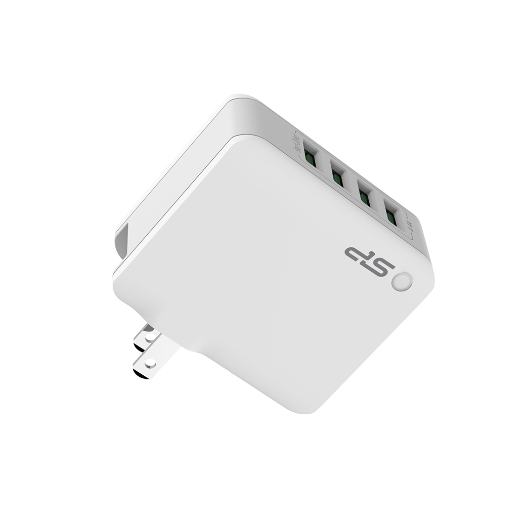 Boost Charger WC104P<br><font color='#888888' size='2%'>Type-A*4/22W</font>