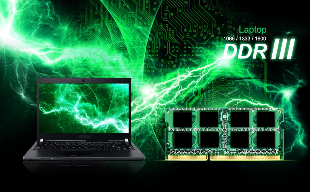 DDR3 SODIMM<br><font color='#888888' size='2%'>1600/1333/1066  </font>