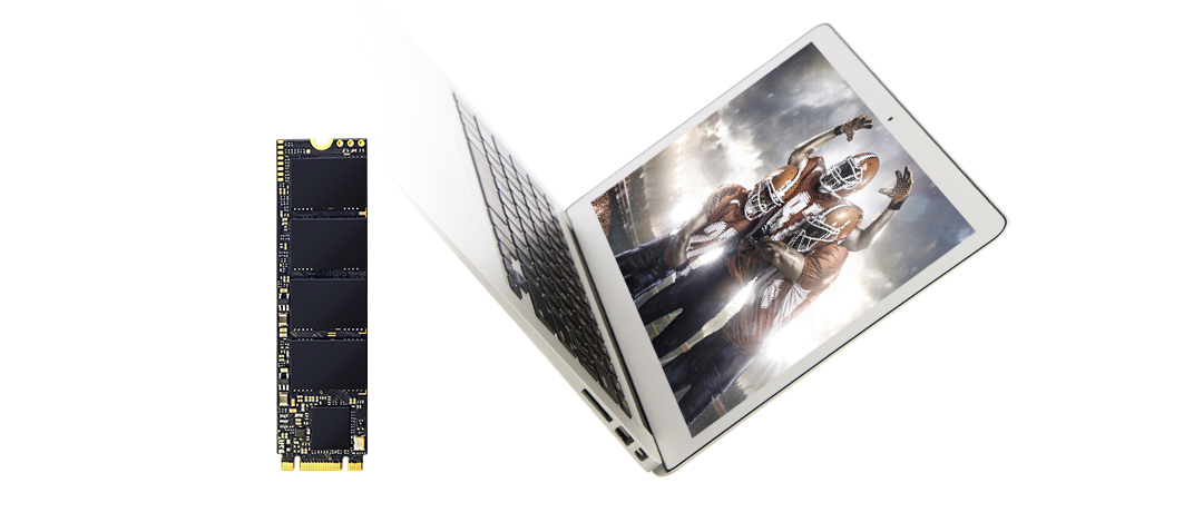PCIe Gen3x4 P34A80 Massive Performance, Small Form Factor