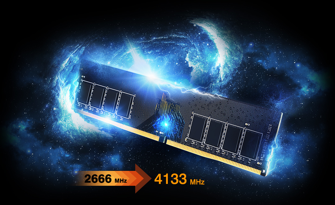 XPOWER AirCool<br> DDR4 Gaming Memory Module XPOWER Gives You Maximum Power