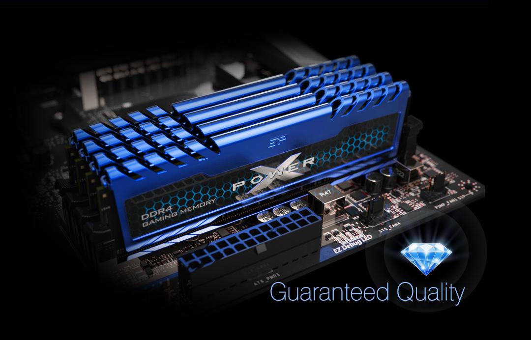 XPOWER Turbine<br> DDR4 Gaming UDIMM<br><font color='#888888' size='2%'>4133/3600/3200/3000/2666 </font> Удача сопутствует лучшим