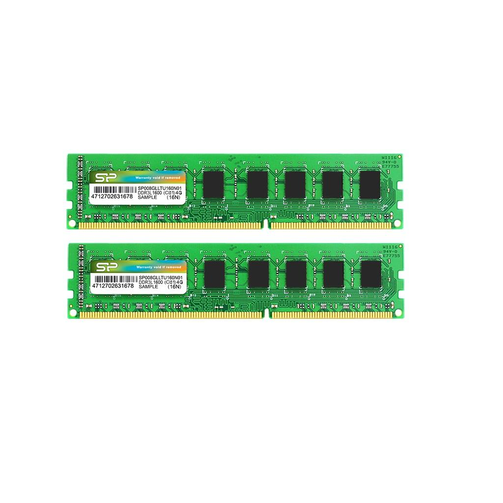 Модули памяти DRAM DDR3L 240-PIN Low Voltage Unbuffered DIMM_Dual Channel Kit
