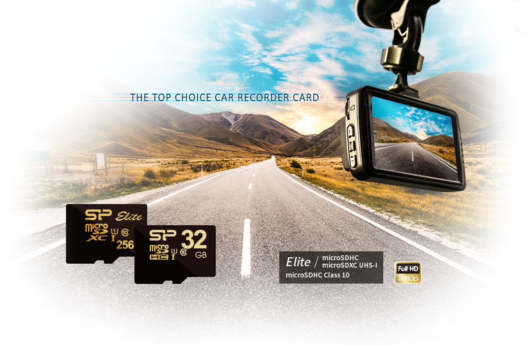 Golden Series-Elite microSDHC/microSDXC UHS-1 Capture Every Moment in Your Car