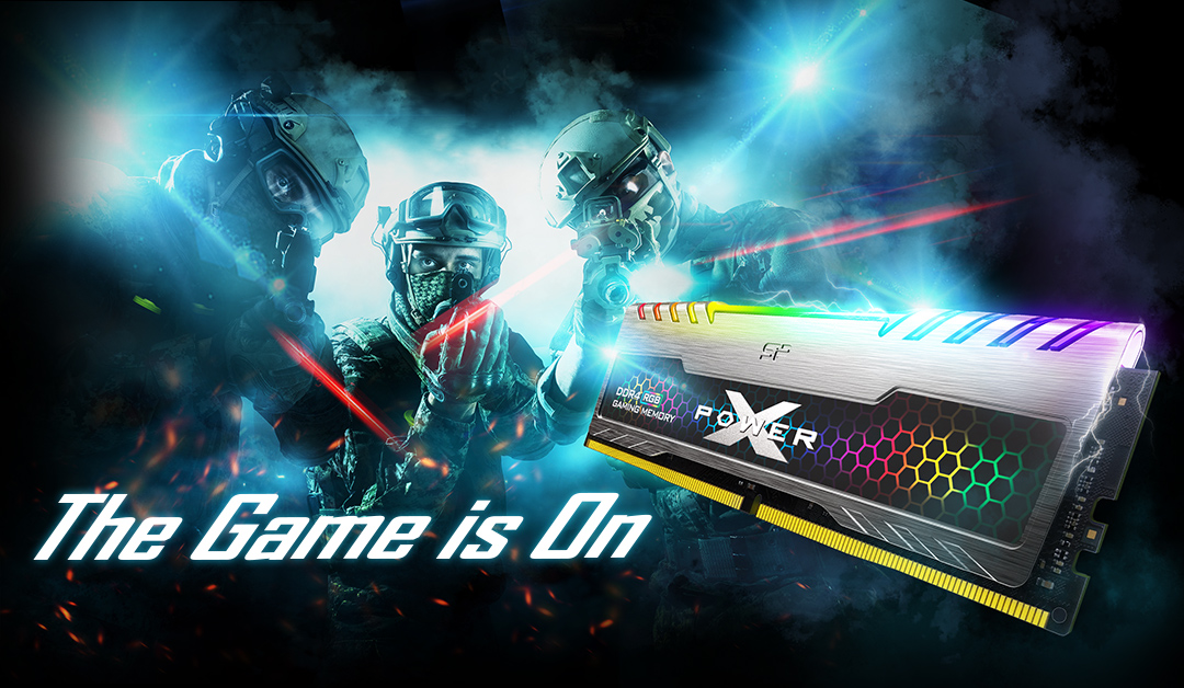 XPOWER Turbine RGB<br> DDR4 Gaming UDIMM<br><font color='#888888' size='2%'>4133/3600/3200 </font> The Ultimate Gaming Aesthetic