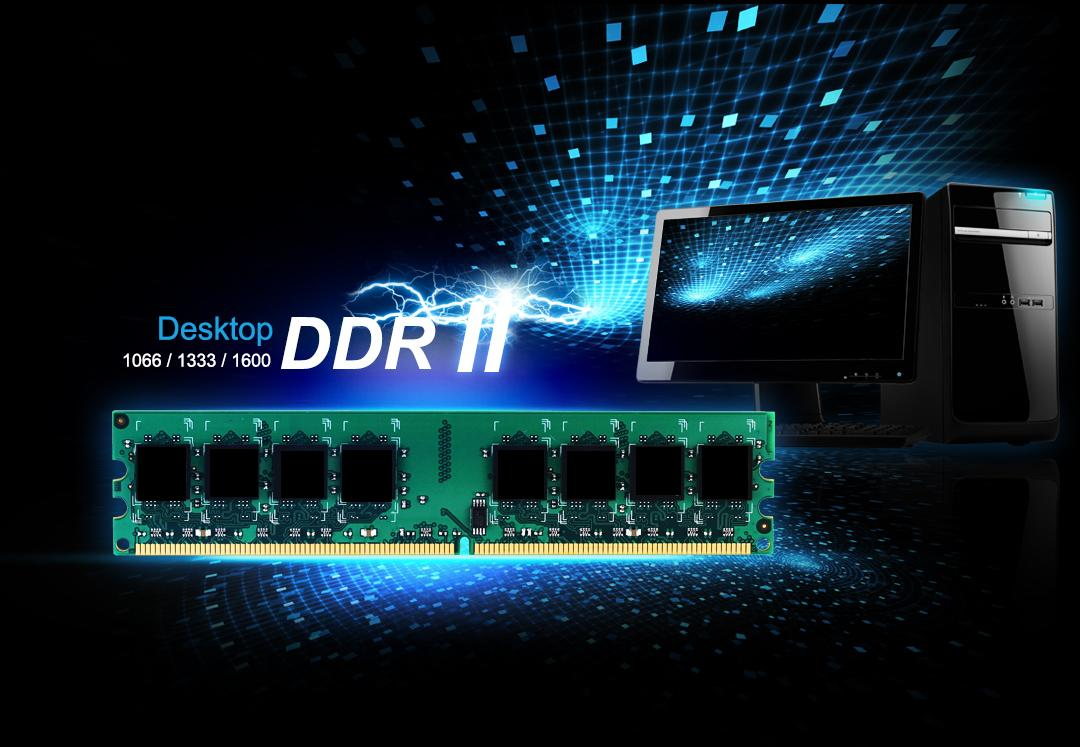 DDR2 240-PIN Unbuffered DIMM_Dual Channel Kit