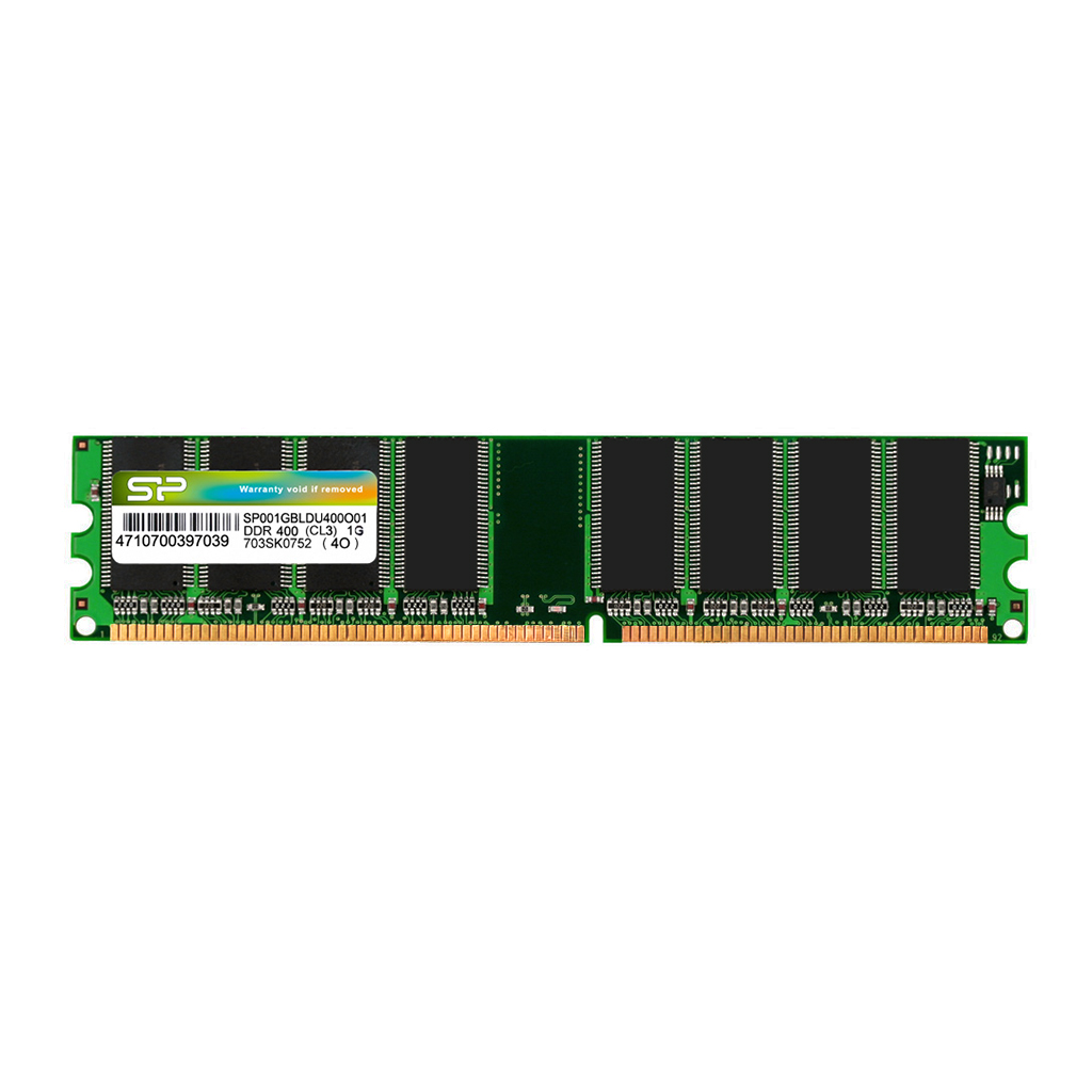 Модули памяти DRAM DDR 184-PIN Unbuffered DIMM